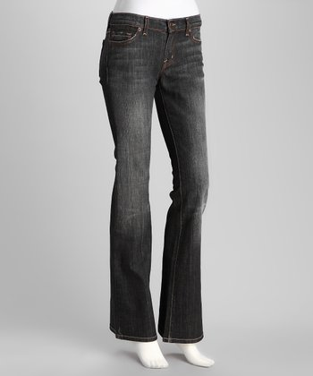 Manhattan Nikki Low-Rise Bootcut Jeans