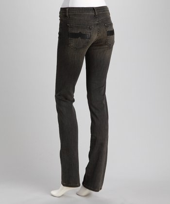 Highland Nikki Mid-Rise Stretch Straight-Leg Jeans - Women