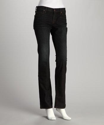 Dirty Blue Nikki Straight-Leg Jeans