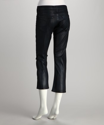 Black Lana Cropped Jeans