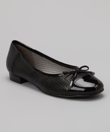 Black Leather Sage Flat