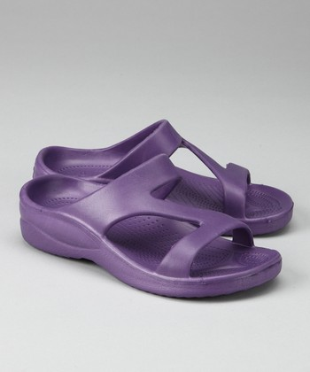 Plum Sandal - Girls