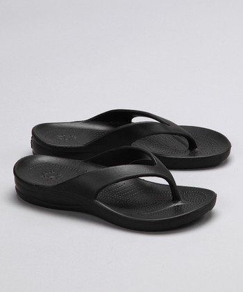 Black Flip-Flop - Girls & Boys