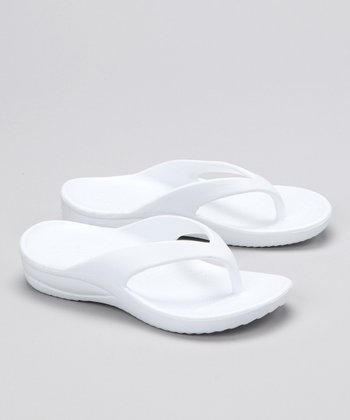 White Flip-Flop - Girls & Boys