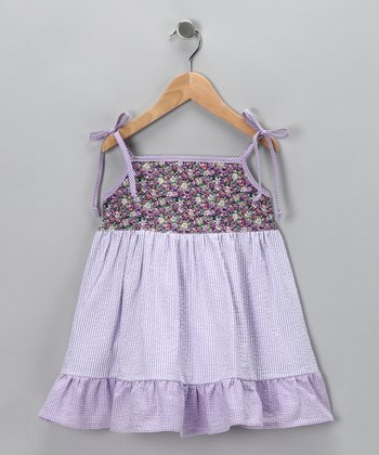 Lavender Flower Dress - Infant, Toddler & Girls