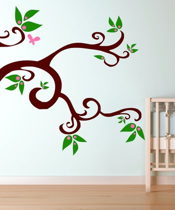 Sweet Pea Tree Wall Decal