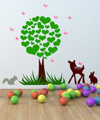 Woodland Wall Decal Set