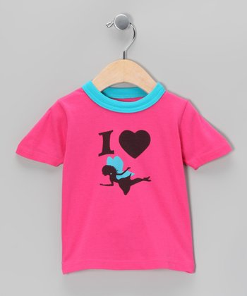Pink Fairy Love Tee - Infant & Toddler