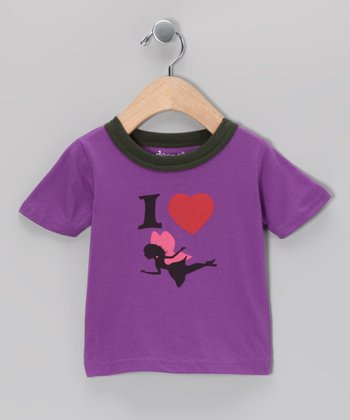 Purple Fairy Love Tee - Infant & Toddler