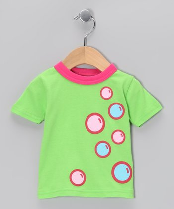 Green Bubble Tee - Infant & Toddler