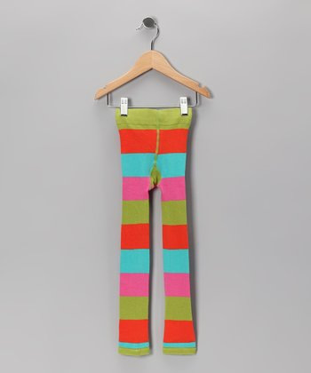 Circus Stripe Footloose Leggings - Infant, Toddler & Girls