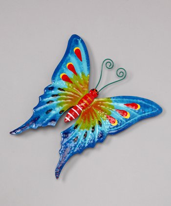 Blue Butterfly Wall Art