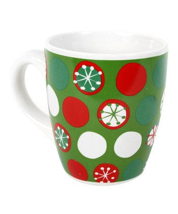 Dennis East International Red & Green Jumbo Mug