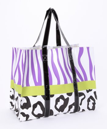 Purple Zebra Shopper