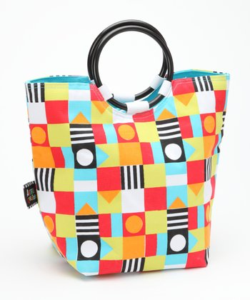 Circle & Square Insulated Lunch Tote
