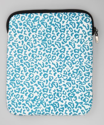 Blue Leopard Cover for Tablet
