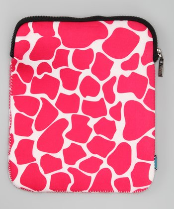 Pink Giraffe Cover for Tablet