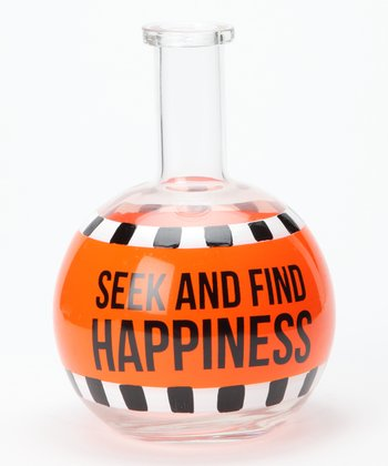 'Seek and Find Happiness' Bottle