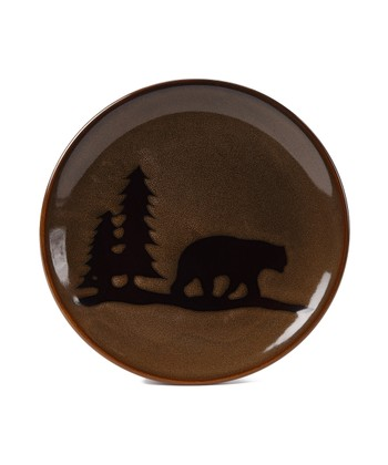 Woodland Bear Salad Plate