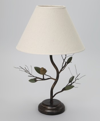 Bird & Berry Table Lamp