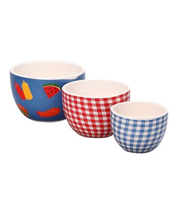 Picnic Nested Bowl Set