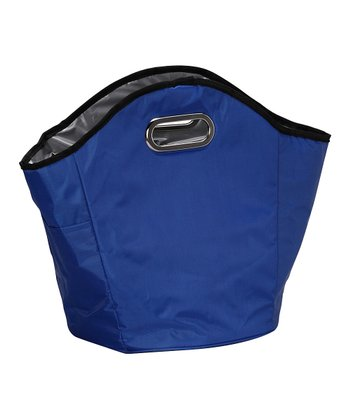 Blue Insulated Hand Tote