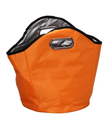 Orange Insulated Hand Tote