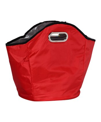 Red Insulated Hand Tote