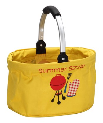 Yellow 'Summer Sizzle' Mini Market Basket