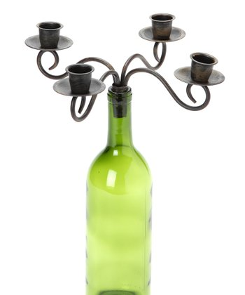 Four-Arm Candelabrum Wine Bottle Topper