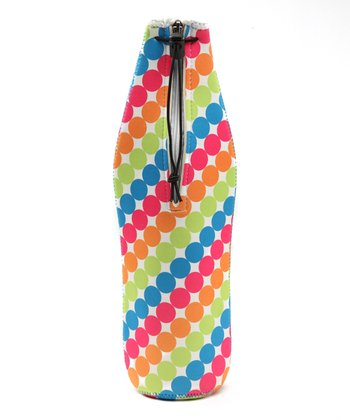Polka Dot Wine Bottle Bag