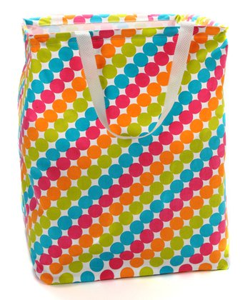 Tropical Dot Krunch Square Tote