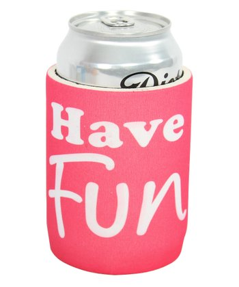 'Have Fun' Tropical Koozie