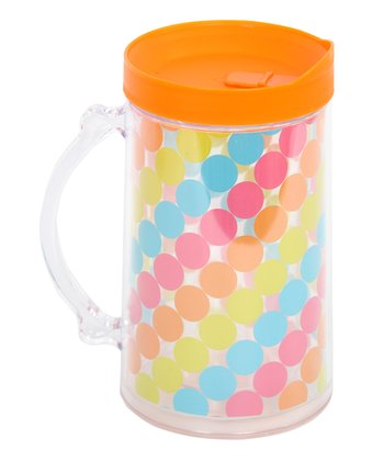 Polka Dot Tropical 30-Oz. Mega Mug
