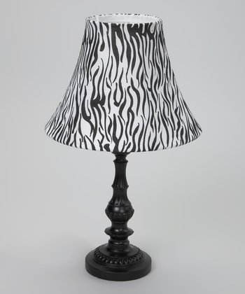 Black & White Tiger Lamp