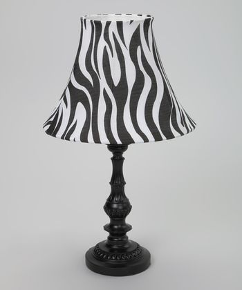 Black & White Zebra Lamp