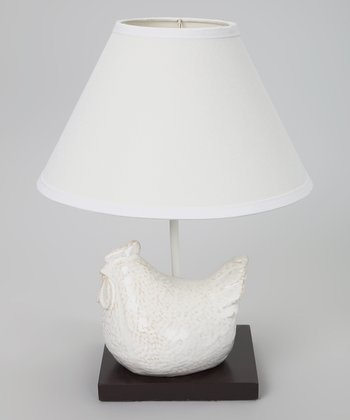 White Chicken Lamp
