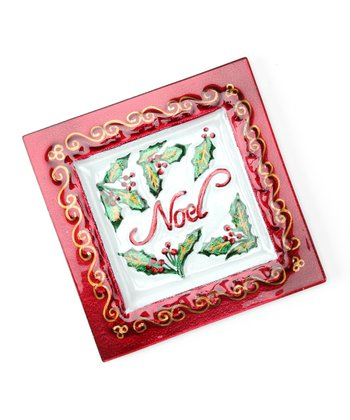 'Noel' Holiday Sentiment Plate