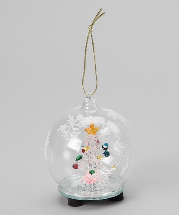 Snowflake Tree LED Ornament