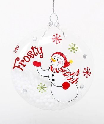 'Frosty' Snowman Ornament