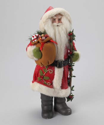 Toy Santa Ornament