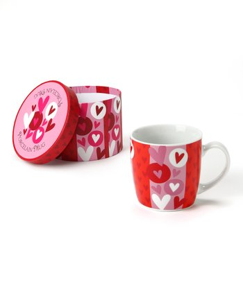 Red Heart Mug & Box