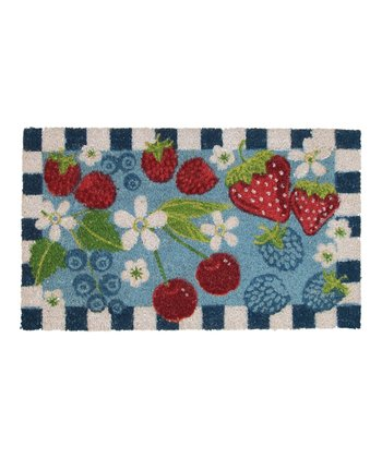 Summer Berry Doormat