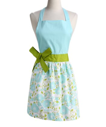 Angel Blue Daisy Apron - Women