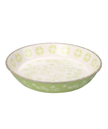 Leaf Green Pie Plate