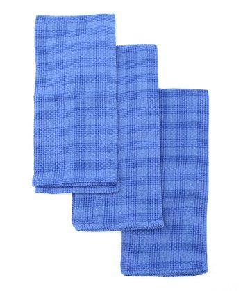 Plaid Heavyweight Dish Towel - Set of Three