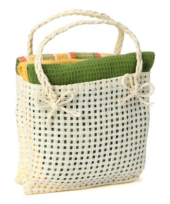 Citrus Dish Towel & Bag Set