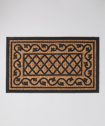 Vine Lattice Doormat