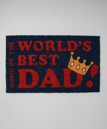 'World's Best Dad' Doormat