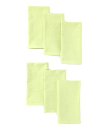 Design Imports Fresh Green Napkin - Set of Six